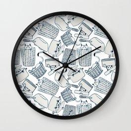 Hide & Seek Cats Wall Clock