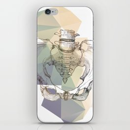 Pelvic Bone iPhone Skin