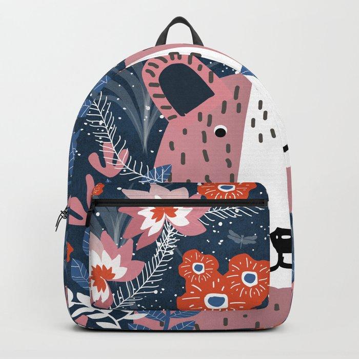 Bear Garden Backpack