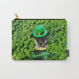 St. Patricks Day Dog Carry-All Pouch