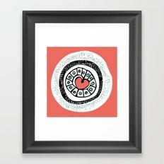 Loveburst Framed Art Print