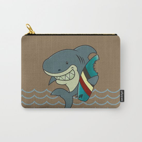 The great white surfer Carry-All Pouch