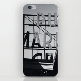 pike place iPhone Skin