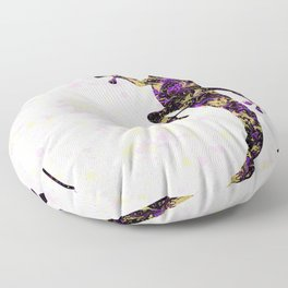 Abstract Lizard Floor Pillow
