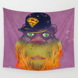 Super Squatch Wall Tapestry