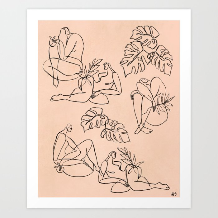 Summer Lines || Art Print