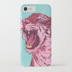 Magenta tiger Slim Case iPhone 7