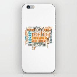Bibliophile iPhone Skin