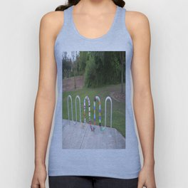 Knitted Worm Unisex Tank Top