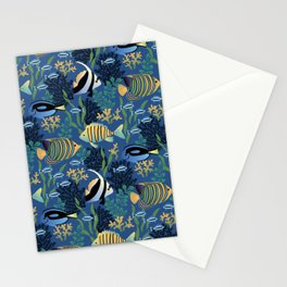 Tropical Fish Stationery Cards