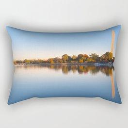 Golden Autumn Hour of Washington DC Rectangular Pillow