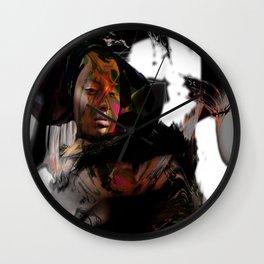 Alien Dreams - Mode Studies Darken Wall Clock