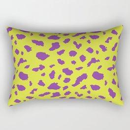 Dalmation - purple/gold Rectangular Pillow