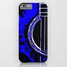 Pop Art Guitar Blue iPhone 6s Slim Case