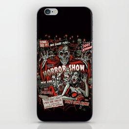 The Horror Show iPhone Skin