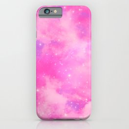 Aesthetic Sky Outer Space Retro Design iPhone Case
