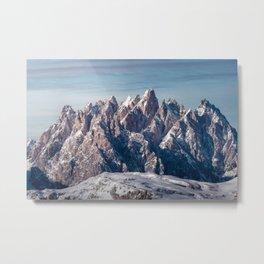 Sextener Dolomiten, Sexten Dolomites, Italien, Italy Metal Print