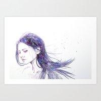 Clear Art Print