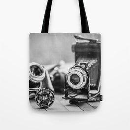 Cámaras Antiguas Tote Bag