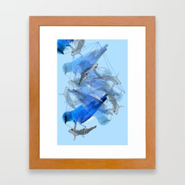 Body Talk Framed Art Print
