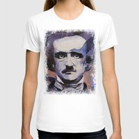 edgar allan poe T-shirts featuring Edgar Allan Poe by Michael Creese