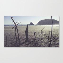 Sea Graves Canvas Print