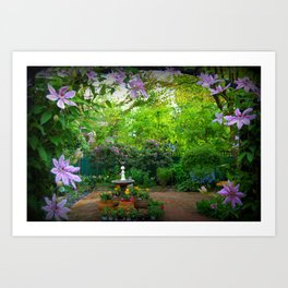 The Secret Garden Art Print
