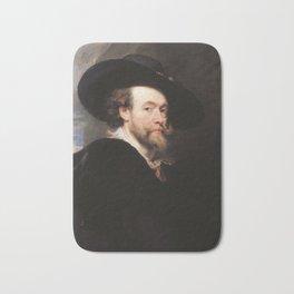 Peter Paul Rubens - Portrait of the Artist Bath Mat
