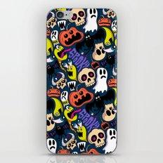 Spooky Pattern iPhone Skin