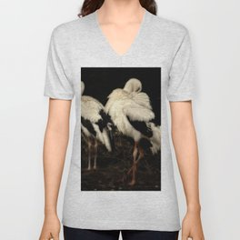 Storks Unisex V-Neck