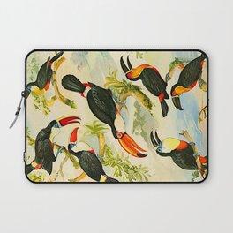 Album de aves amazonicas - Emil August Göldi - 1900 Tropical Colorful Amazon Birds Laptop Sleeve