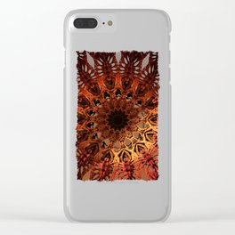 Sun Dial Clear iPhone Case