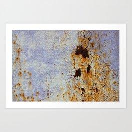 Cracked ! - JUSTART (c) Art Print