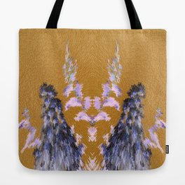 3-D Crepe Myrtle Inversion Tote Bag