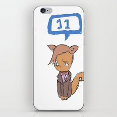 Doctor Meow (11th Doctor) iPhone & iPod Skin