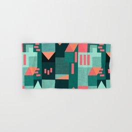 Teal Klee houses Hand & Bath Towel