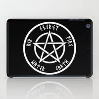 pentagram iPad Cases featuring Pentagram by Urban Monk Store