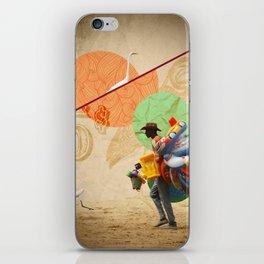 BeachPeople iPhone Skin
