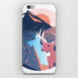 Cabin Folk passion iPhone Skin