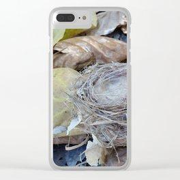 Fallen Nest Clear iPhone Case