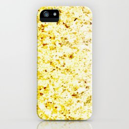 Dirty Gold Melted Molten Metal iPhone Case