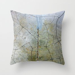 Concrete of concrete Espoo Throw Pillow
