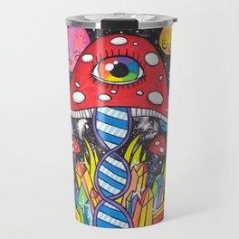 Psychedelic DNA Travel Mug
