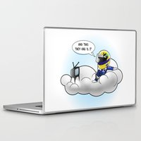f1 Laptop & iPad Skins featuring And This They Call F1? by BestLapStore