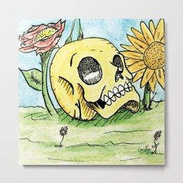 Life Around Death Metal Print