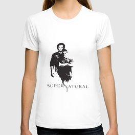 Supernatural Men's Women's Dean And Sam Winchester Brothers Supernatural T-Shirts T-shirt