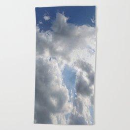 Sky Praise Beach Towel
