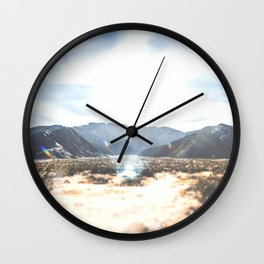 Palm Springs Mountain View Wall Clock