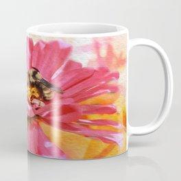 Zinna And Bee Coffee Mug