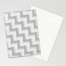Silver Waves Stationery Cards